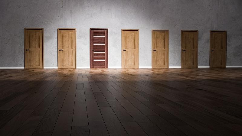 claves elegir puertas tipo material